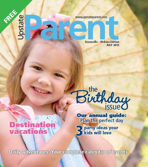 upstate parent magazine cover