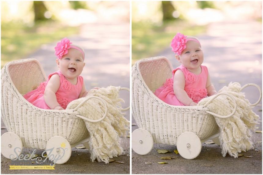 greenville baby portrait
