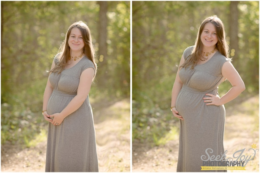 maternity portrait in greenville sc