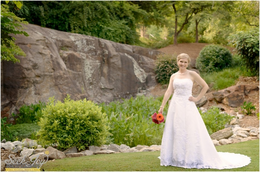 bridal portrait in greenville sc