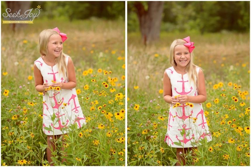 happy flower child