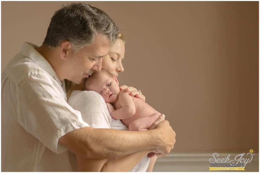 family photography with newborn