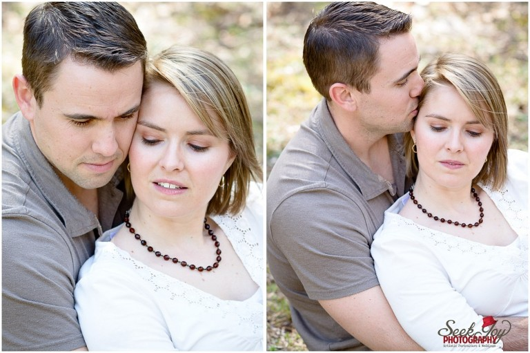 engagement portraits at jones gap state park