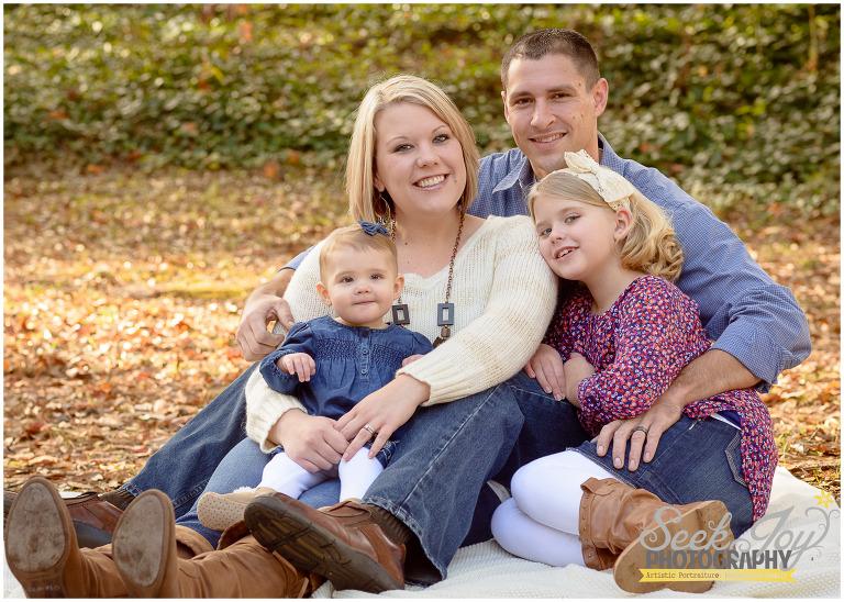 fall family mini sessions Greenville SC