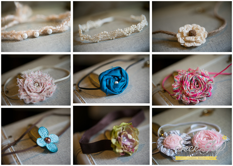 photo props for newborn baby girl photography