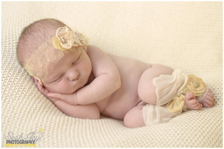 vintage inspired newborn photography