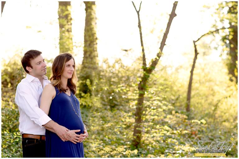 greer city park maternity session